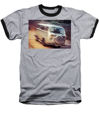 Vw Camper On A Kodak Moment Baseball T-Shirt