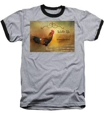 Wake Up Baseball T-Shirt