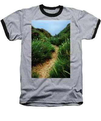 Way Through The Dunes Baseball T-Shirt