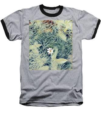 White Cosmo Baseball T-Shirt