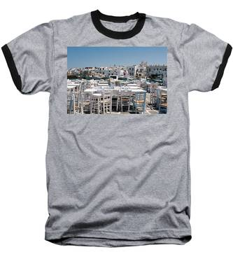 Whitewashed Naoussa Baseball T-Shirt