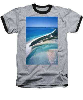 Baseball T-Shirt featuring the photograph Whitsunday Islands by Juergen Held