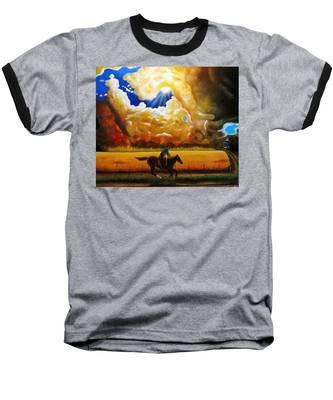 Wild Fire  Baseball T-Shirt