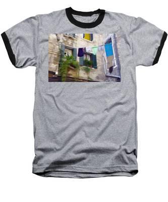 Windows Of Venice Baseball T-Shirt