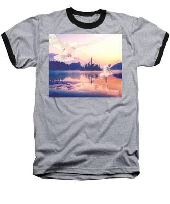 Wings Of Grace Baseball T-Shirt