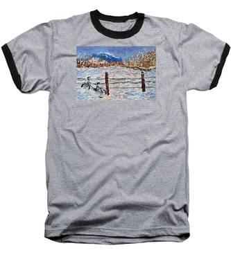 Winter Ride Baseball T-Shirt
