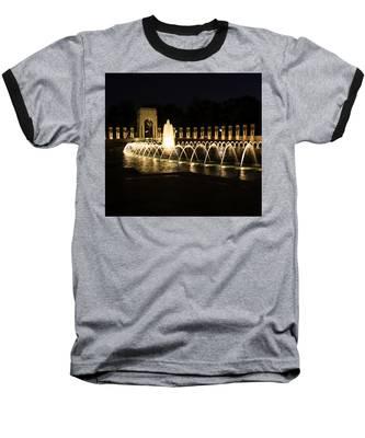 World War Memorial Baseball T-Shirt