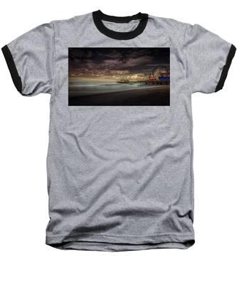 Enchanted Pier Baseball T-Shirt