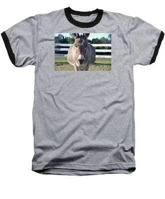 Baseball T-Shirt featuring the photograph You Wanna Pin What Where? by Andrea Platt