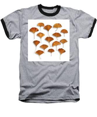 Gingkos Fall Baseball T-Shirt
