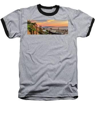 A Nice Evening In The Park - Panorama Baseball T-Shirt