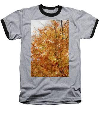 Autumn Explosion 1 Baseball T-Shirt
