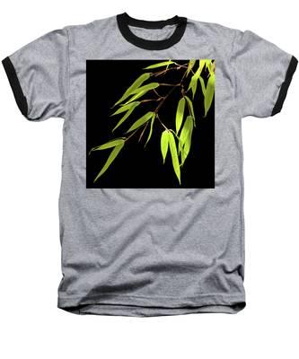 Bamboo Leaves 0580a Baseball T-Shirt