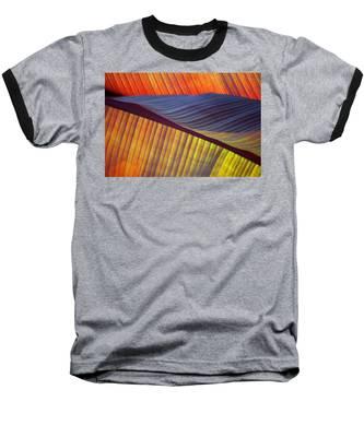 Banana Leaf 8613 Baseball T-Shirt