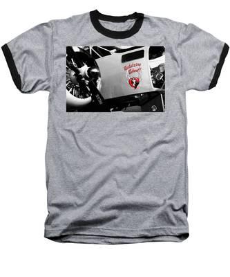 Beech At-11 In Selective Color Baseball T-Shirt