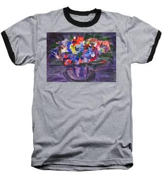 Bouquet In The Dark Baseball T-Shirt