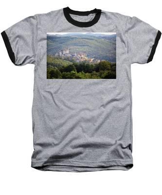 Chateau Beynac, France Baseball T-Shirt