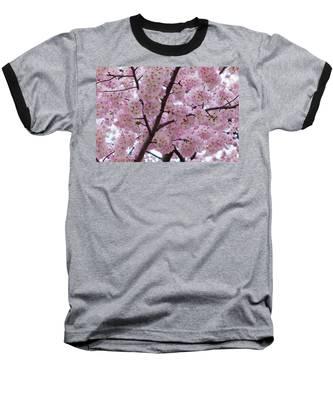 Cherry Blossoms 8611 Baseball T-Shirt