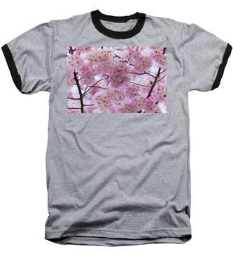 Cherry Blossoms 8625 Baseball T-Shirt
