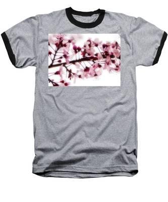 Cherry Triptych Center Panel Baseball T-Shirt