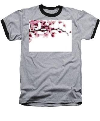 Cherry Triptych Right Panel Baseball T-Shirt