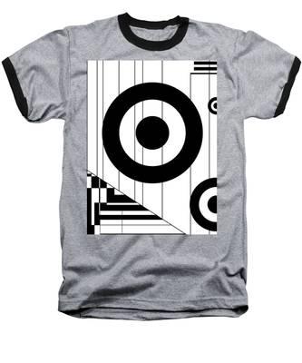Circular Circles  Baseball T-Shirt