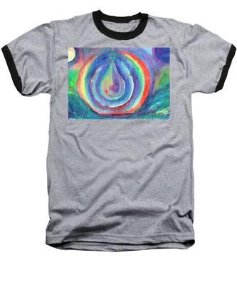 Colorful Drop Baseball T-Shirt