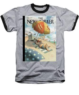 Dog Days Of Summer Baseball T-Shirt