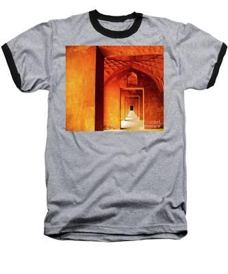 Doors Of India - Taj Mahal Baseball T-Shirt