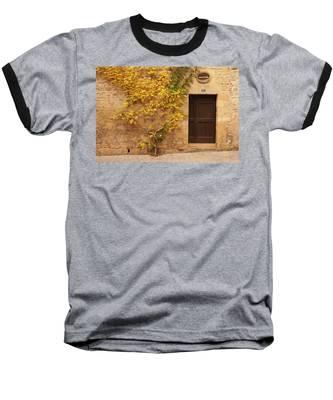 Doorway, Sarlat, France Baseball T-Shirt