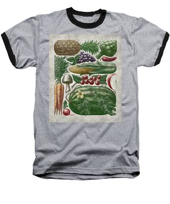 Farmer's Market - Color Baseball T-Shirt