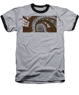 Frank Lloyd Wright - The Rookery Baseball T-Shirt