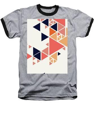 Geometric Painting 1 Baseball T-Shirt
