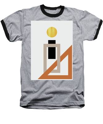 Geometric Painting 10 Baseball T-Shirt