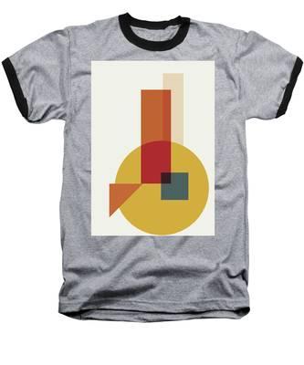 Geometric Painting 13 Baseball T-Shirt