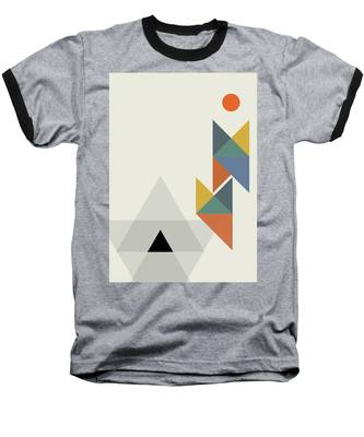 Geometric Painting 14 Baseball T-Shirt