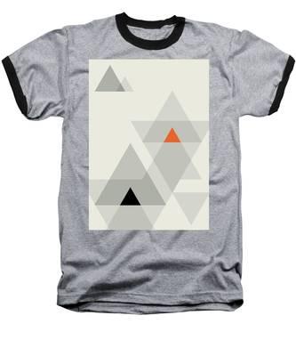 Geometric Painting 15 Baseball T-Shirt