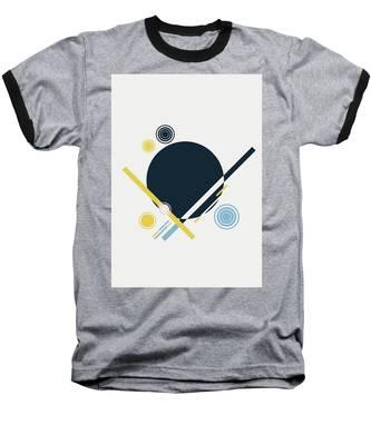 Geometric Painting 3 Baseball T-Shirt