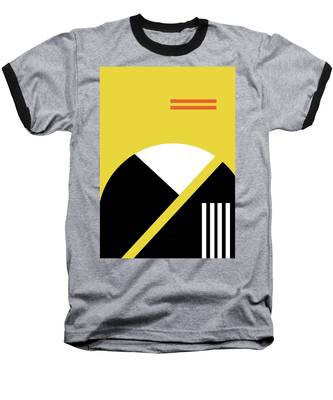 Geometric Painting 5 Baseball T-Shirt