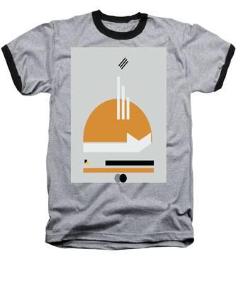 Geometric Painting 8 Baseball T-Shirt