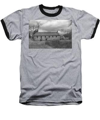 Grey Skies Over Fieldstone - Waterloo Village Baseball T-Shirt
