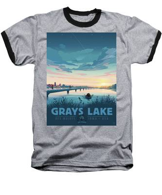 Grays Lake Baseball T-Shirt