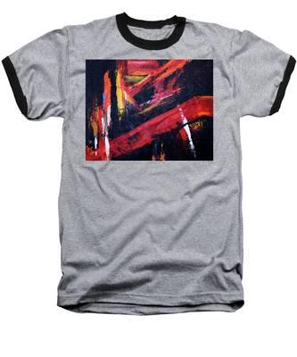 Lines Of Fire Baseball T-Shirt