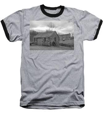 Lock House And Store - Waterloo Village Baseball T-Shirt