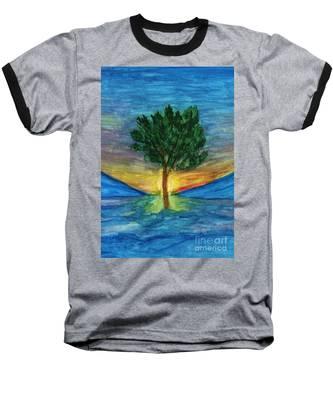 Lonely Pine Baseball T-Shirt