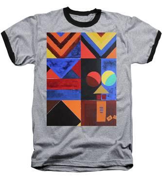 Magical Lines  Baseball T-Shirt