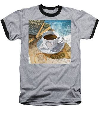 Morning Coffee Baseball T-Shirt