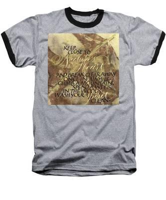 Nature's Heart Baseball T-Shirt