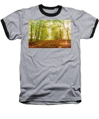 Neither Summer Nor Winter But Autumn Light Baseball T-Shirt