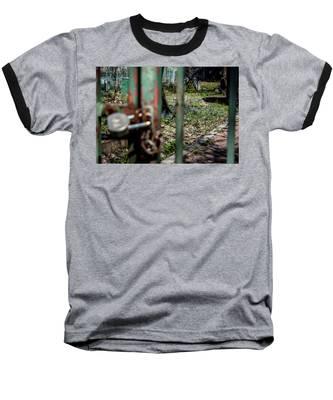 No Admittance Baseball T-Shirt